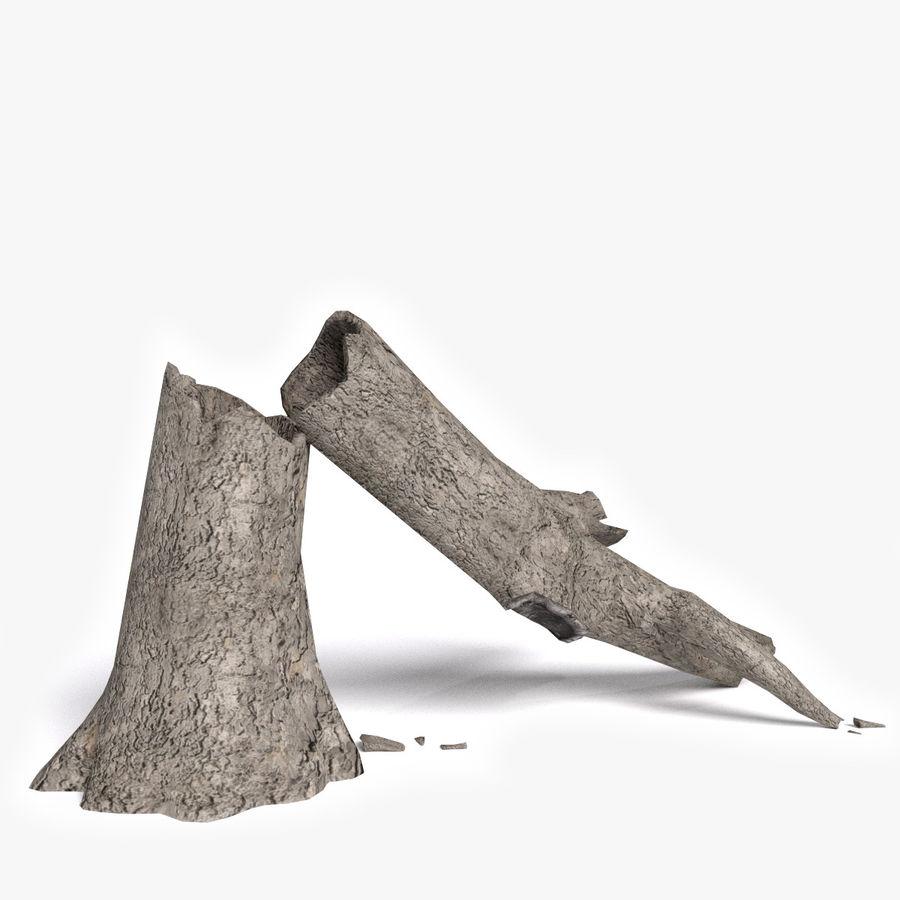 Zmarłe drzewo royalty-free 3d model - Preview no. 1