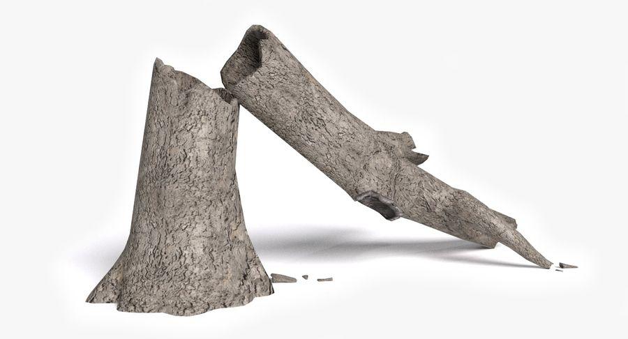Zmarłe drzewo royalty-free 3d model - Preview no. 2
