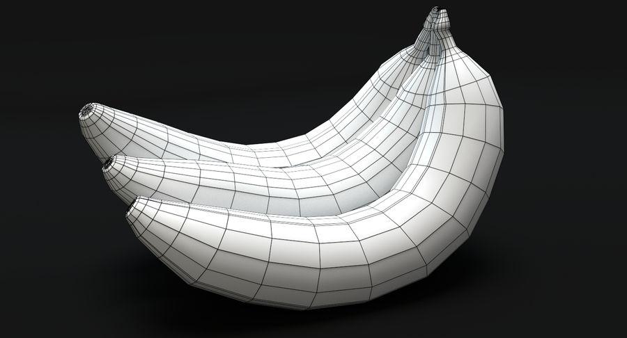 바나나 royalty-free 3d model - Preview no. 6