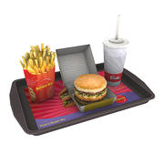 Fast Food Mahlzeit 03 3d model