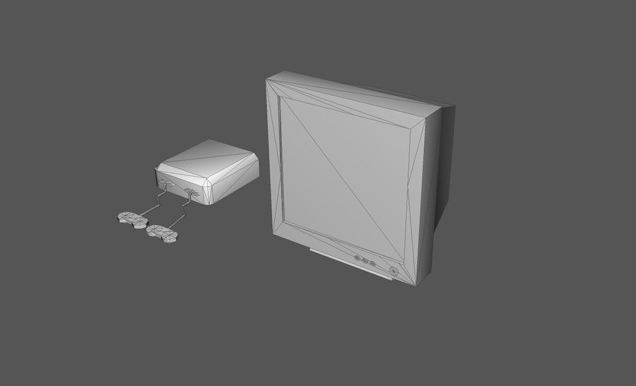 Пакет предметов интерьера для дома (Extended) royalty-free 3d model - Preview no. 8