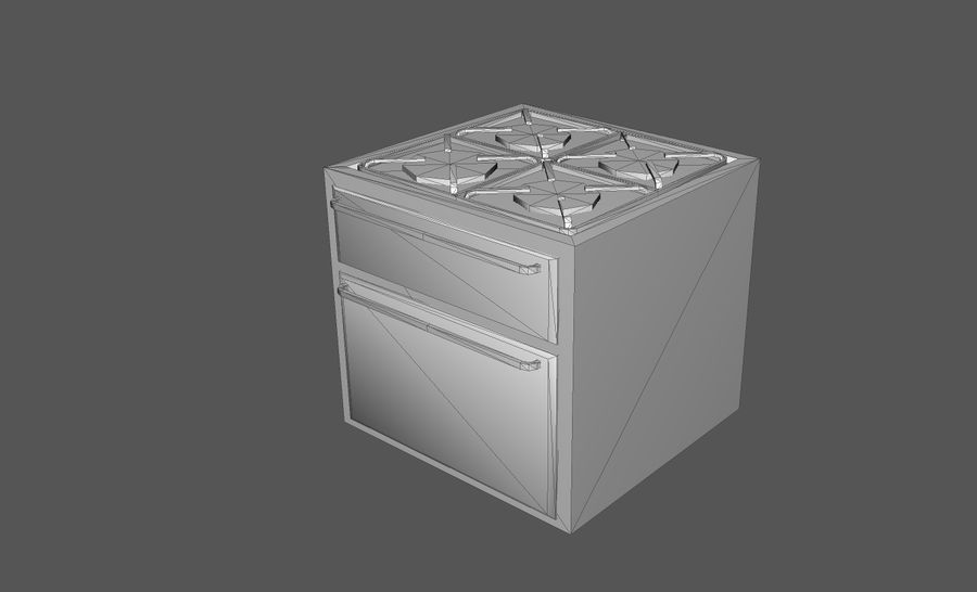Пакет предметов интерьера для дома (Extended) royalty-free 3d model - Preview no. 31