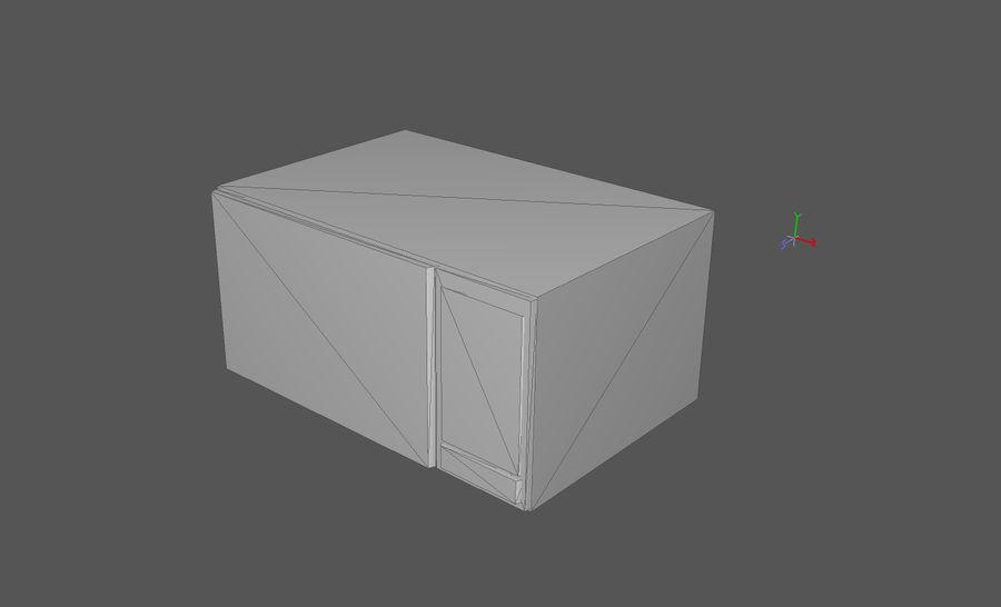 Domowe opakowanie przedmiotów wewnętrznych (Rozszerzone) royalty-free 3d model - Preview no. 42