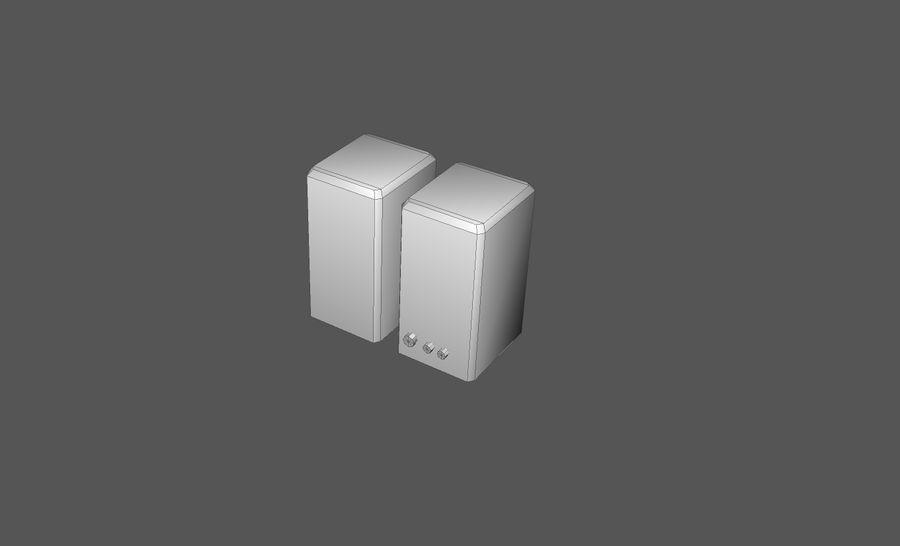 Пакет предметов интерьера для дома (Extended) royalty-free 3d model - Preview no. 15