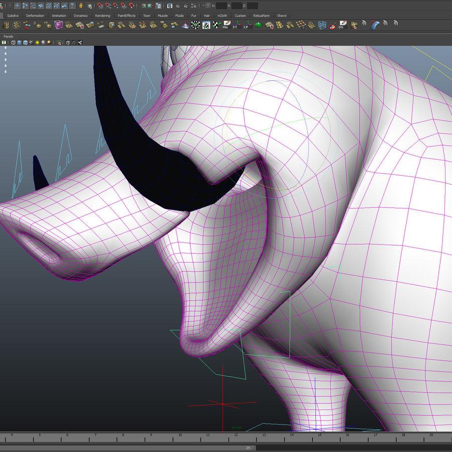 Beer 3D cartoon karakter royalty-free 3d model - Preview no. 13