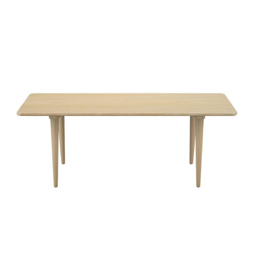 CH011 Coffee Table - Hans J. Wegner royalty-free 3d model - Preview no. 3