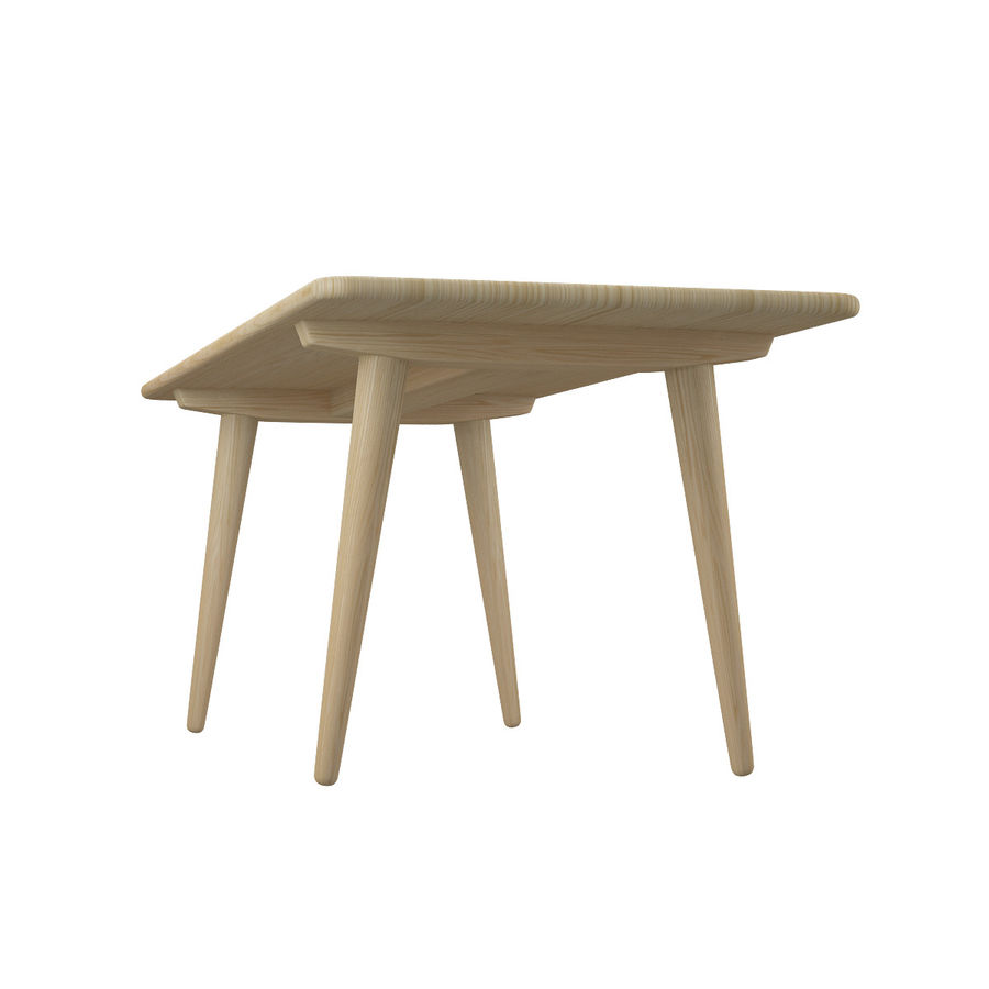 CH011 Coffee Table - Hans J. Wegner royalty-free 3d model - Preview no. 5