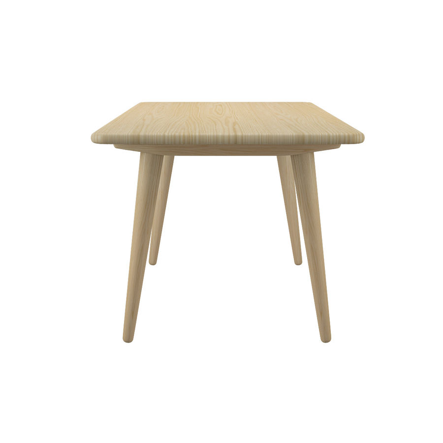 CH011 Coffee Table - Hans J. Wegner royalty-free 3d model - Preview no. 4