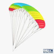 Paraglider v 2 3d model