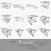 Colecção Modular Truss 3d model