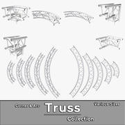 Arc & Corner Truss Collection 3d model
