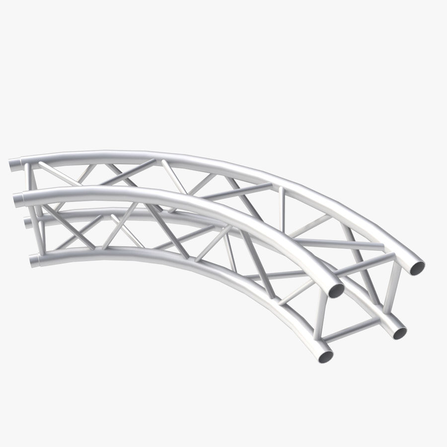 Arc & Corner Truss Collection royalty-free 3d model - Preview no. 6