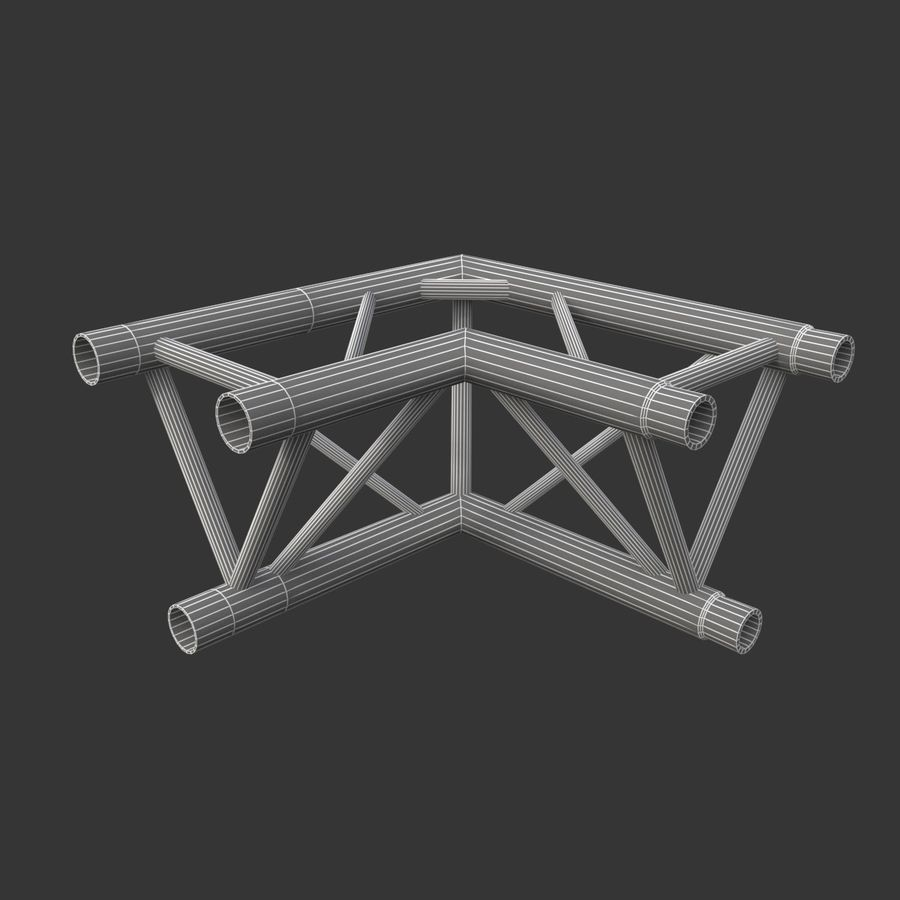 Arc & Corner Truss Collection royalty-free 3d model - Preview no. 11