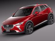 Mazda CX-3 2016 3d model