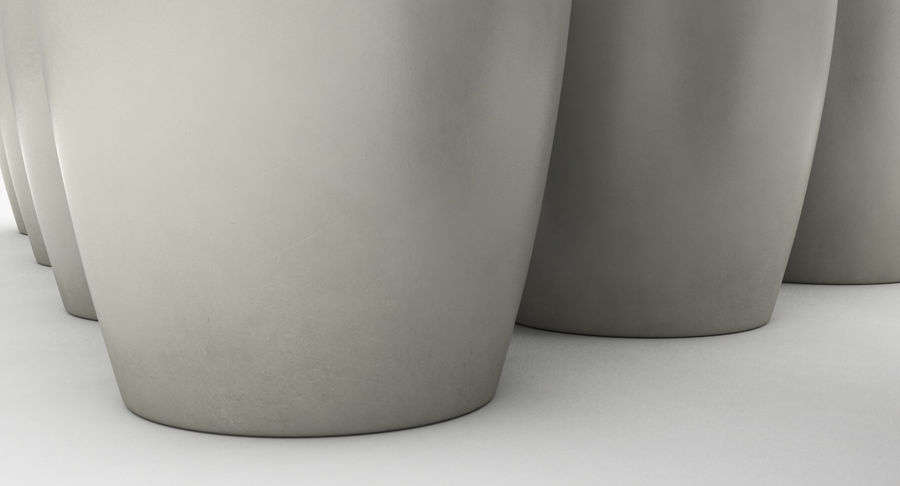 Bowling Pins royalty-free 3d model - Preview no. 8