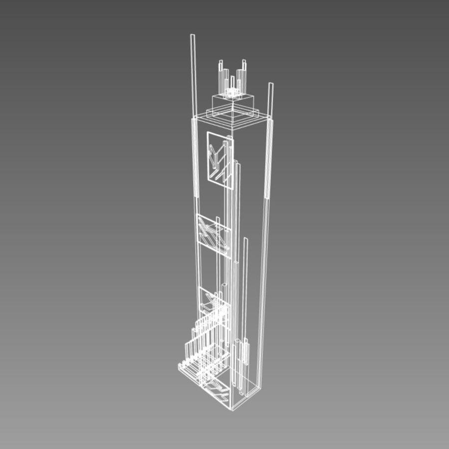 Future City set royalty-free 3d model - Preview no. 10