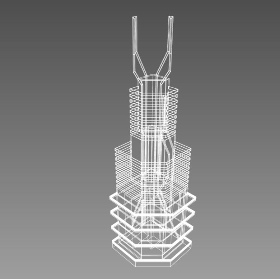 Future City set royalty-free 3d model - Preview no. 9