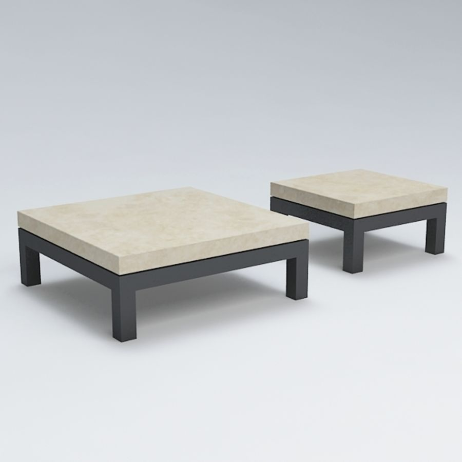 Table coffee069 royalty-free 3d model - Preview no. 2