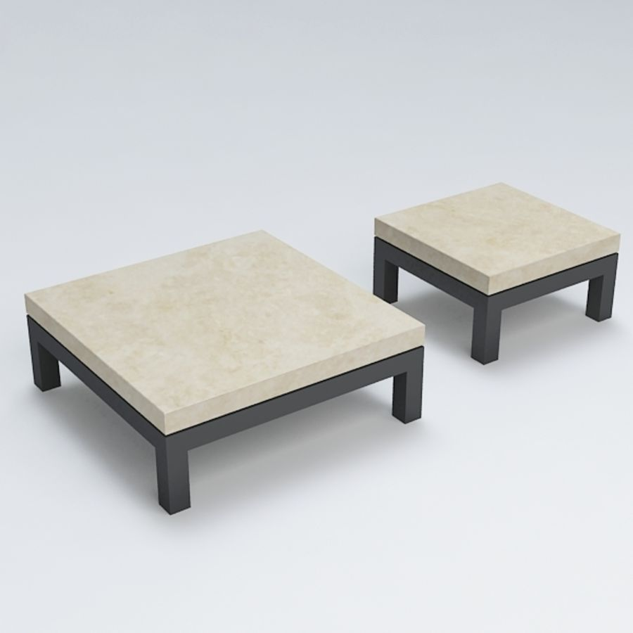 Table coffee069 royalty-free 3d model - Preview no. 3