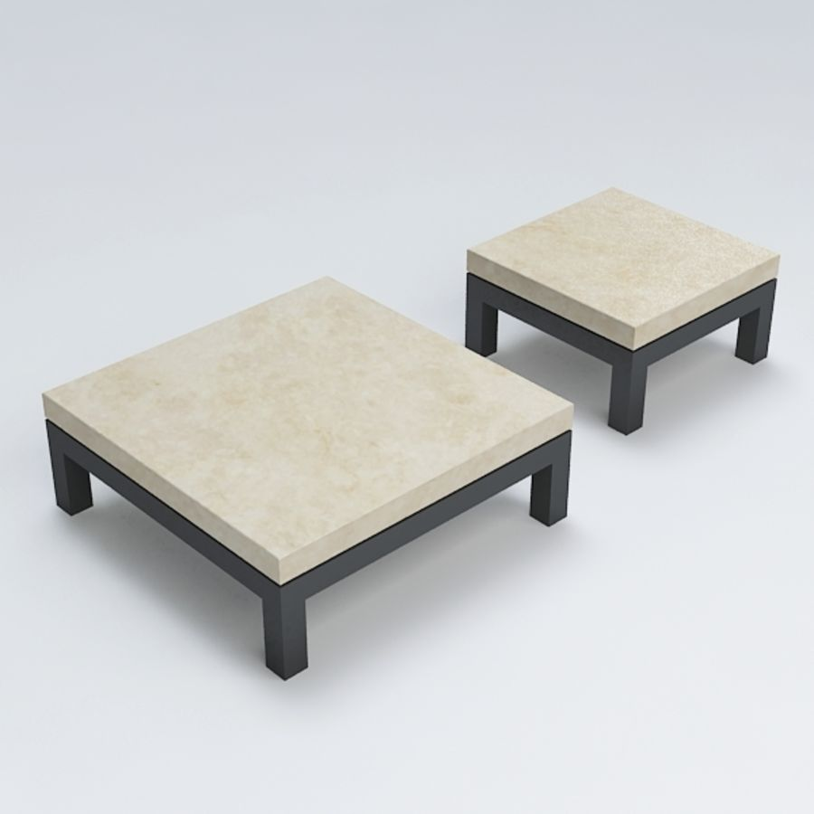 Table coffee069 royalty-free 3d model - Preview no. 4