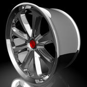 Vienos 8 Spoke Sports Wheel modelo 3d