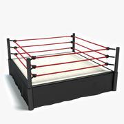Anel de Wrestling 3d model