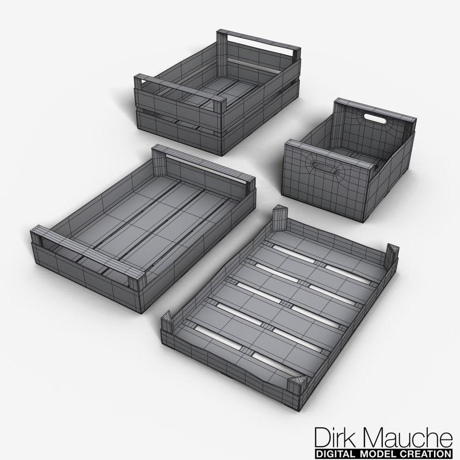 Fruit & vegetable crate set 3D Model $19 -  obj  ma  fbx - Free3D