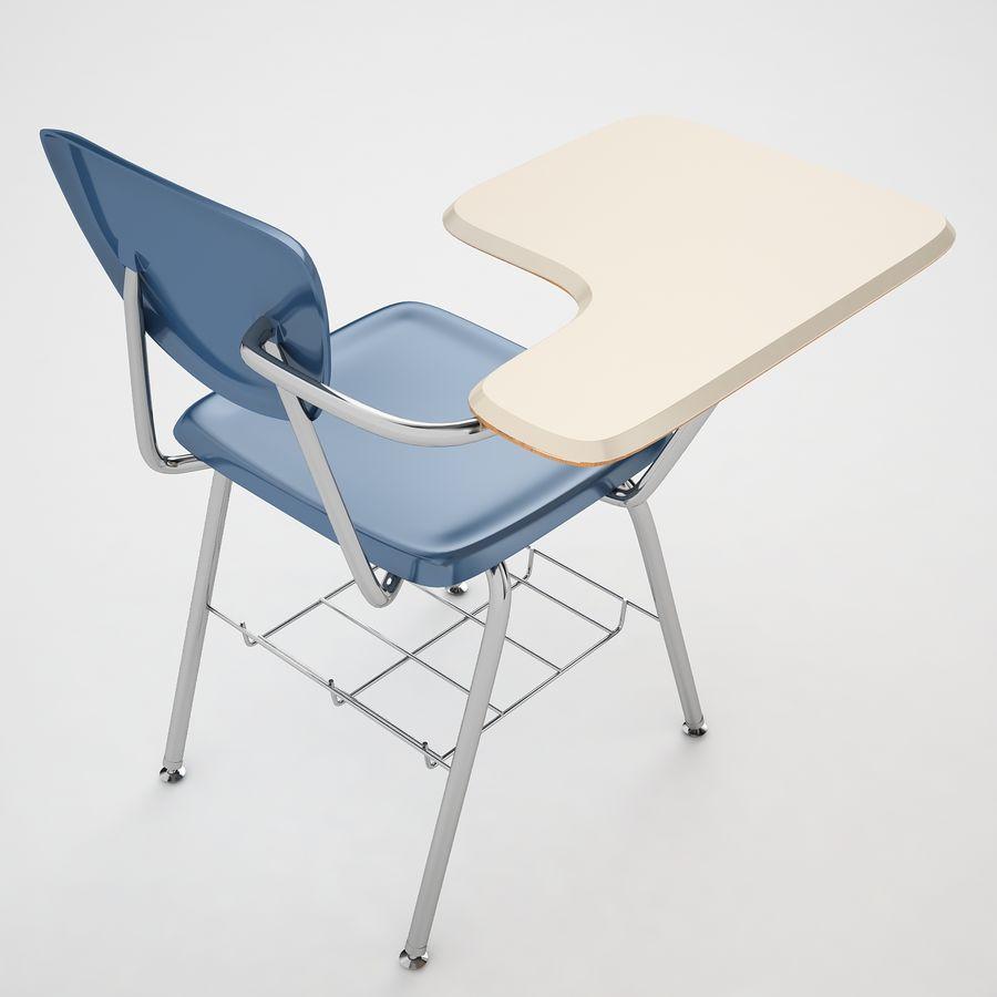 Escola estudante mesa 01 royalty-free 3d model - Preview no. 13