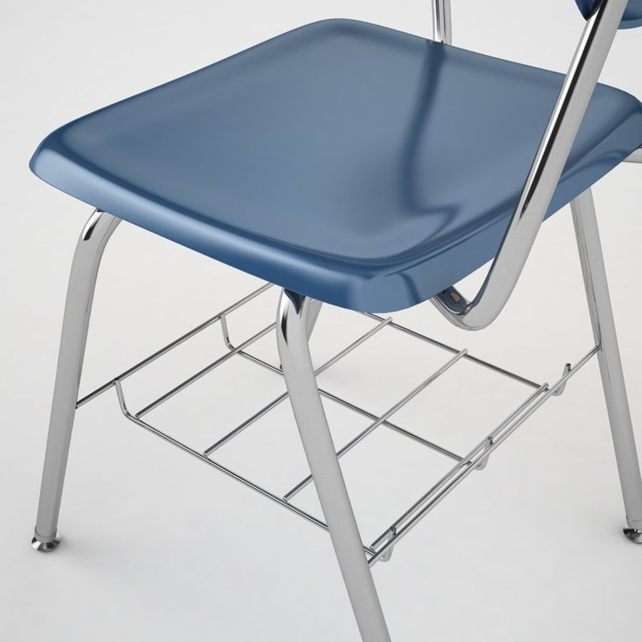 Escola estudante mesa 01 royalty-free 3d model - Preview no. 19