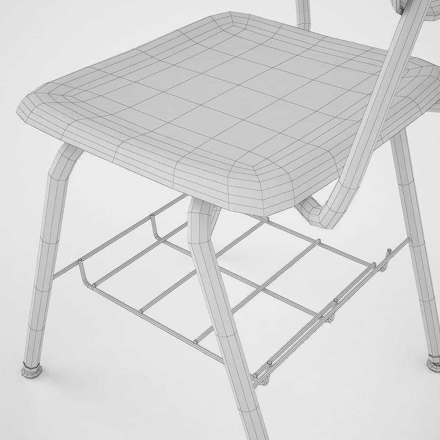 Escola estudante mesa 01 royalty-free 3d model - Preview no. 20