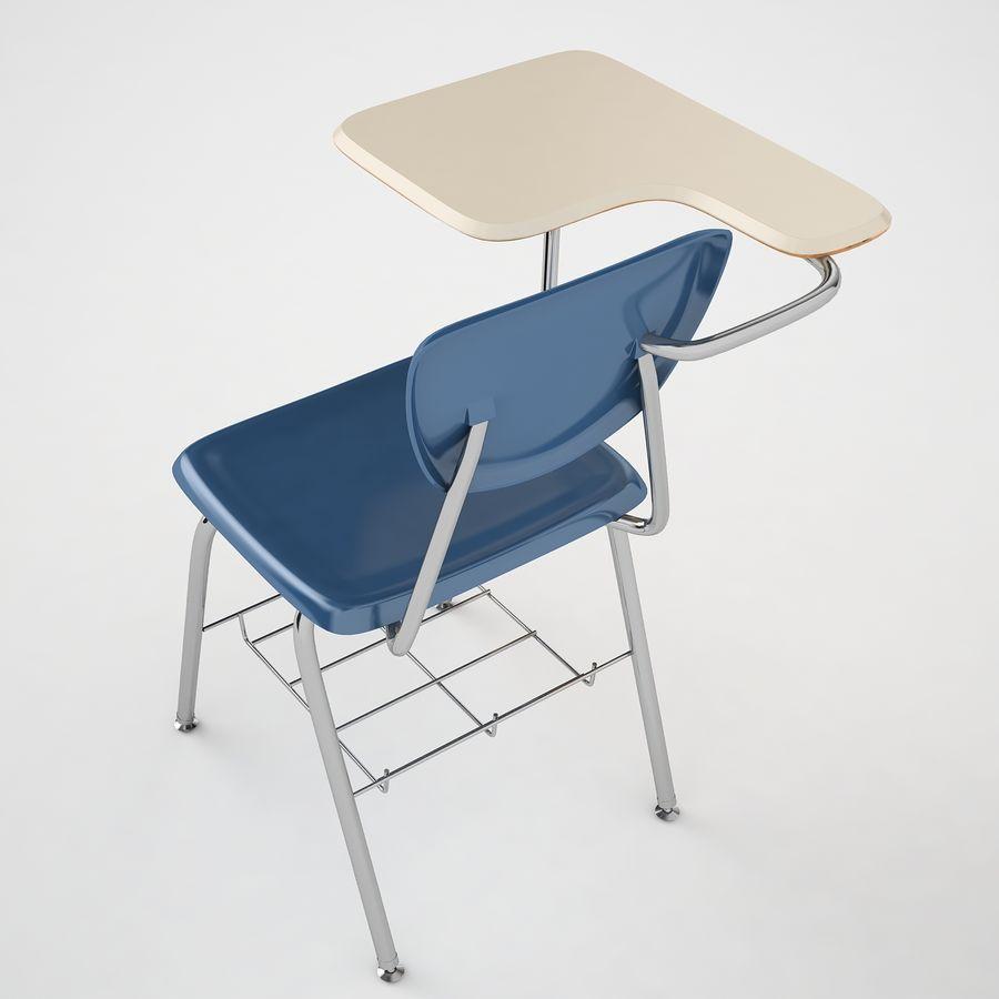 Escola estudante mesa 01 royalty-free 3d model - Preview no. 11
