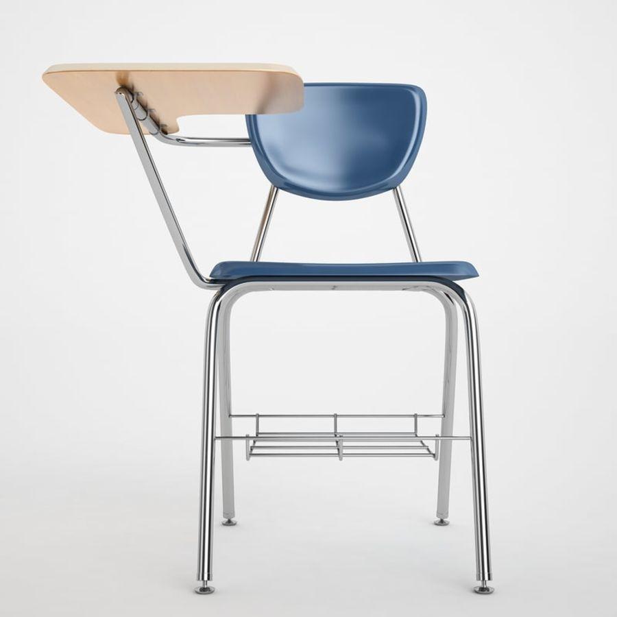 Escola estudante mesa 01 royalty-free 3d model - Preview no. 5