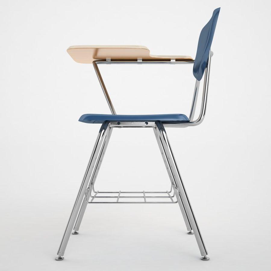 Escola estudante mesa 01 royalty-free 3d model - Preview no. 7