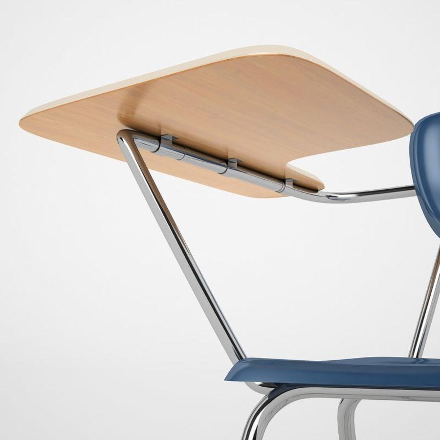 Escola estudante mesa 01 royalty-free 3d model - Preview no. 17
