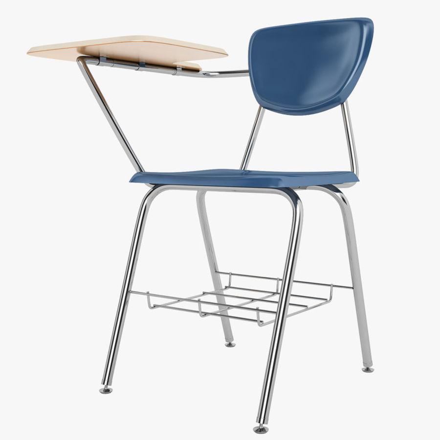 Escola estudante mesa 01 royalty-free 3d model - Preview no. 1