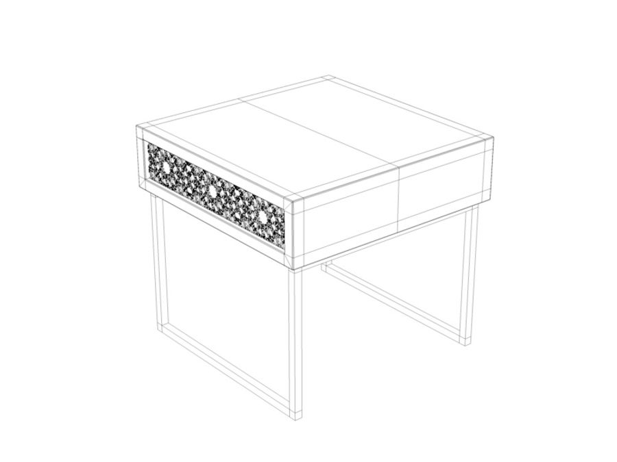 BEDSIDE royalty-free 3d model - Preview no. 5