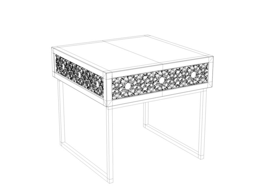 BEDSIDE royalty-free 3d model - Preview no. 4