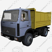 Maz5551 3d model