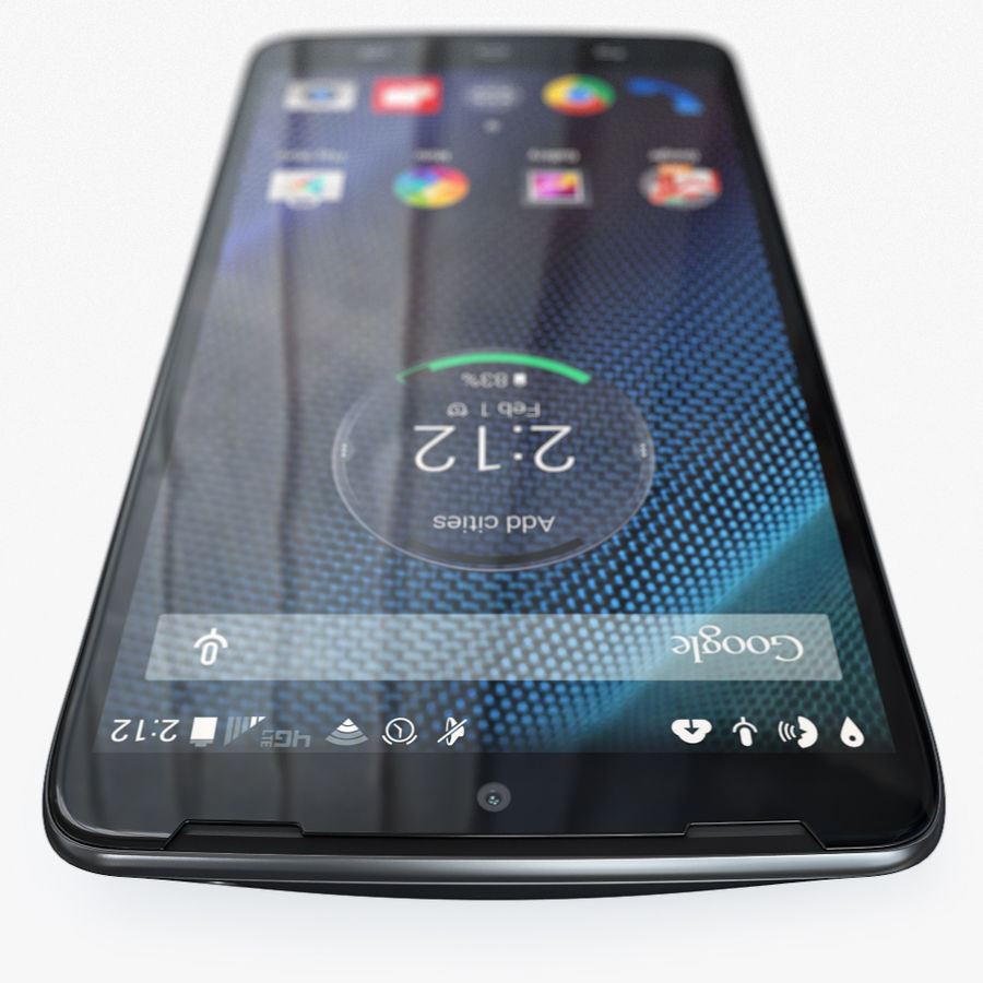 Motorola Moto Maxx royalty-free 3d model - Preview no. 5