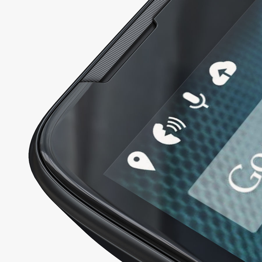 Motorola Moto Maxx royalty-free 3d model - Preview no. 10