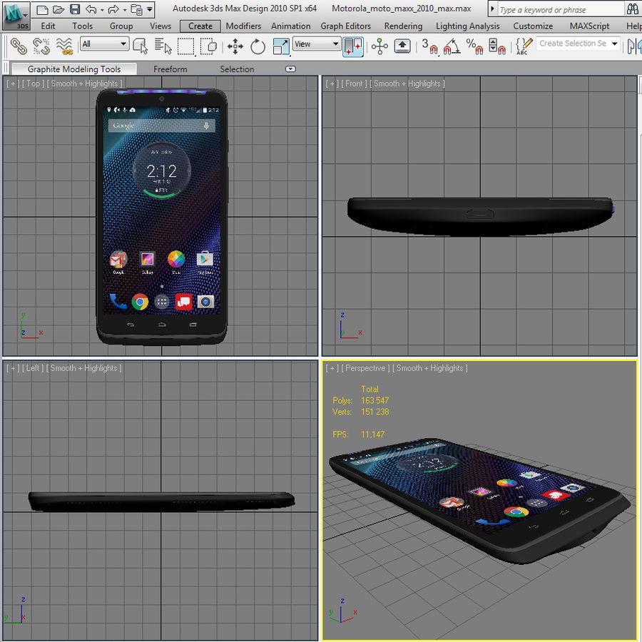 Motorola Moto Maxx royalty-free 3d model - Preview no. 19