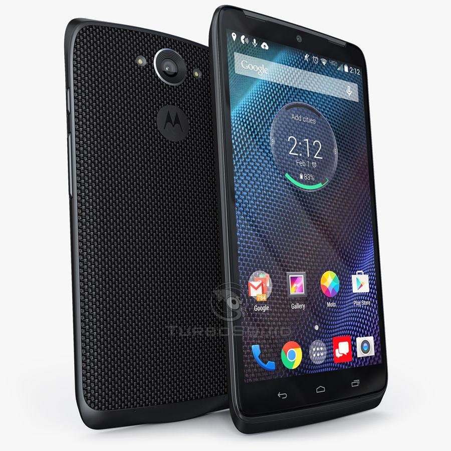 Motorola Moto Maxx royalty-free 3d model - Preview no. 2