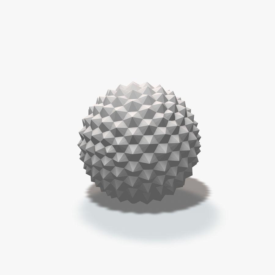 18 geometrische Kugeln royalty-free 3d model - Preview no. 19