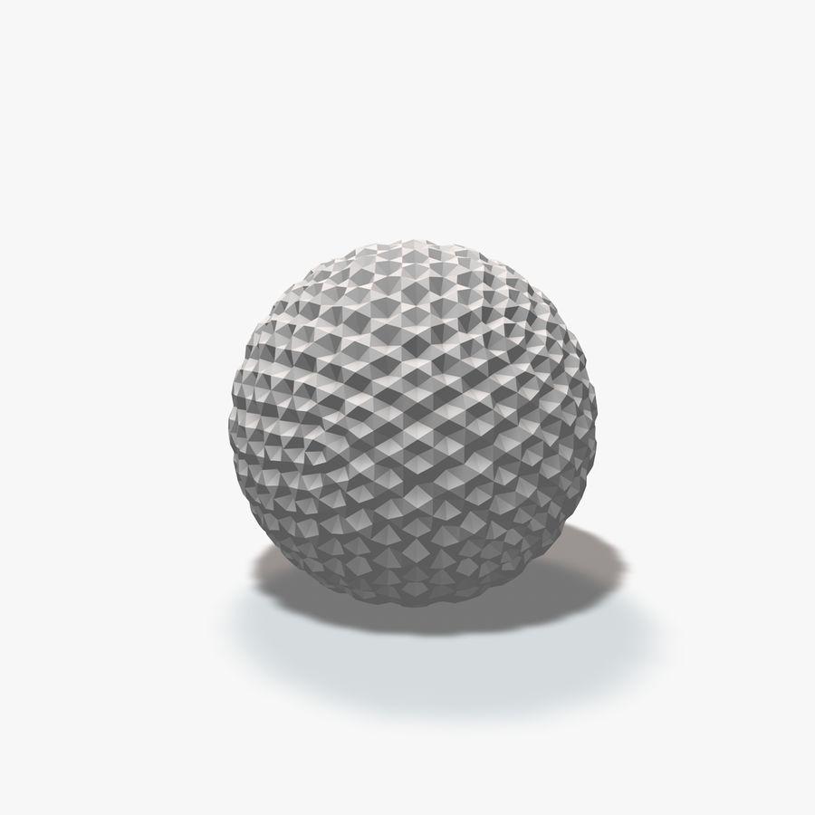 18 esferas geométricas royalty-free 3d model - Preview no. 11