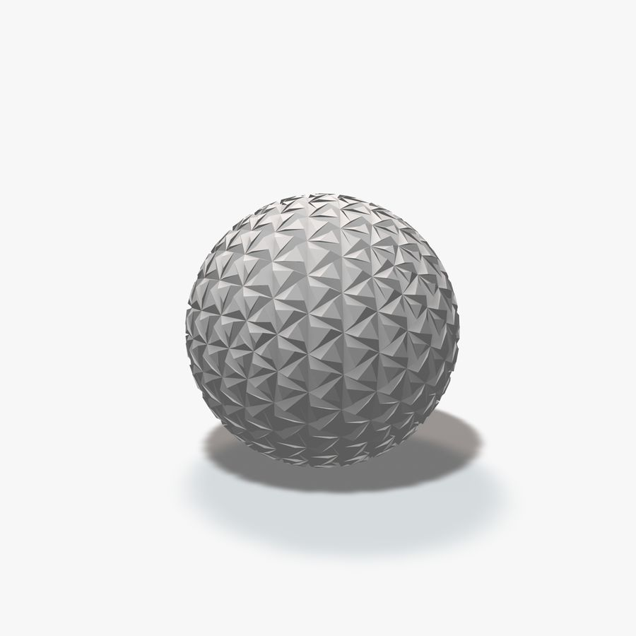 18 Geometric Spheres royalty-free 3d model - Preview no. 9