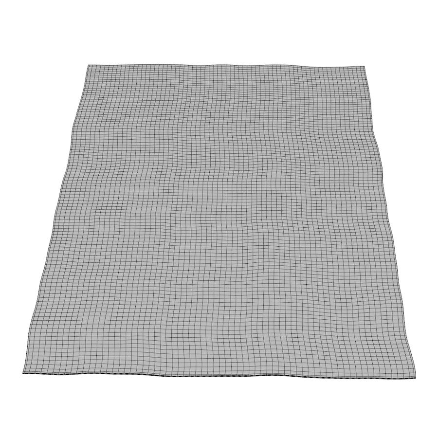 JERNVED rug Ikea 3D Model $9 - .obj