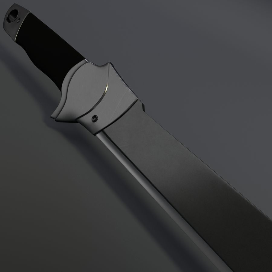 Scorpion Machete royalty-free 3d model - Preview no. 5