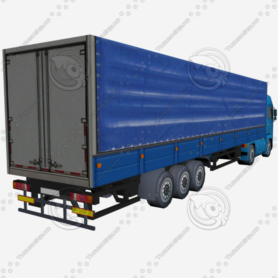 TruckMan01 royalty-free 3d model - Preview no. 4