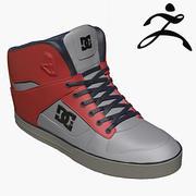 DC Sneakers 3d model
