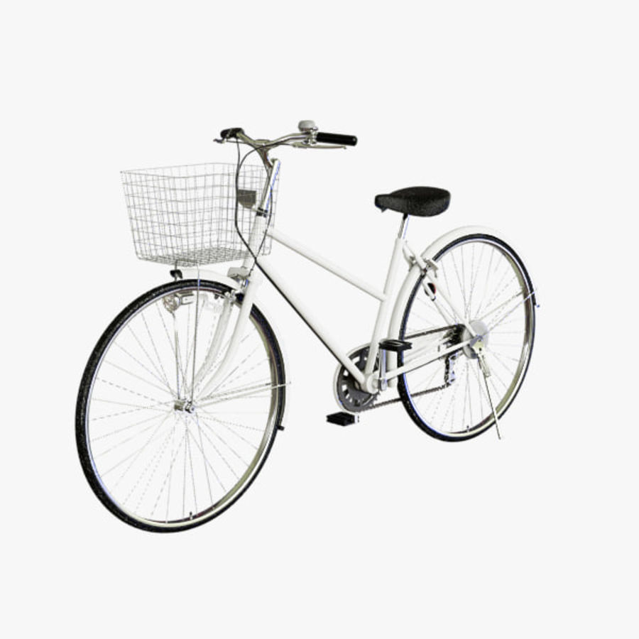 Bicycle royalty-free 3d model - Preview no. 2